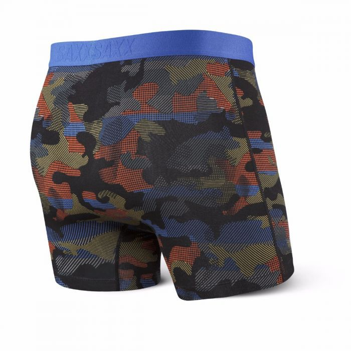 Saxx Saxx Vibe Boxer Brief - Cross Road Camo