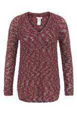 Tribal Tribal Long Sleeve V Neck Sweater