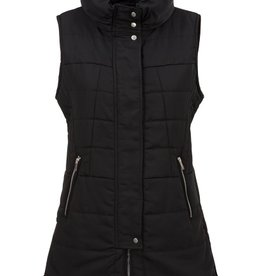 Tribal Tribal Puffer Vest with Zippers
