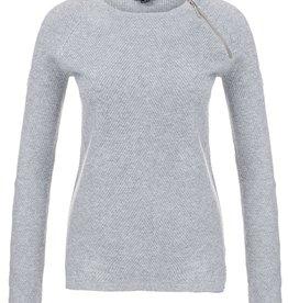 Tribal Tribal Long Sleeve Zip Detail Sweater