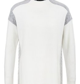 Tribal Tribal Long Sleeve Colourblock Sweater