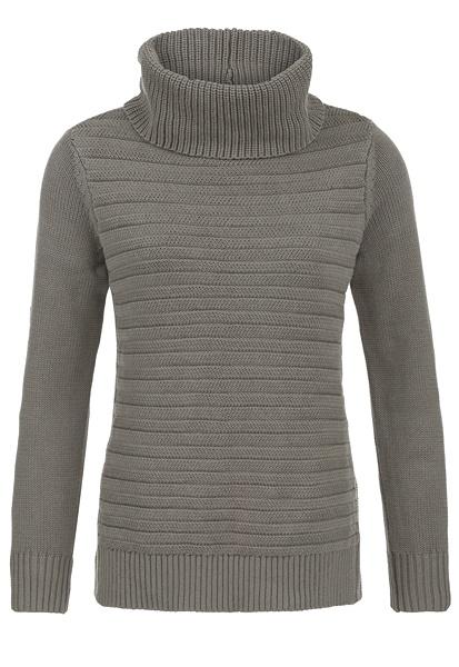Tribal Tribal Long Sleeve Turtleneck Sweater