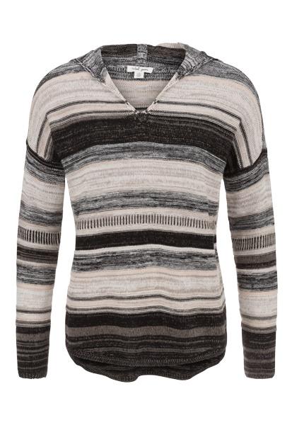 Tribal Tribal Long Sleeve Hooded Sweater