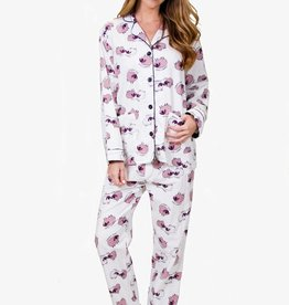 PJ Salvage PJ Salvage Sheepy Time Flannel PJ Set