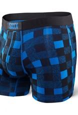 Saxx Saxx Vibe Boxer Modern Fit - Royal Lumberjack Plaid