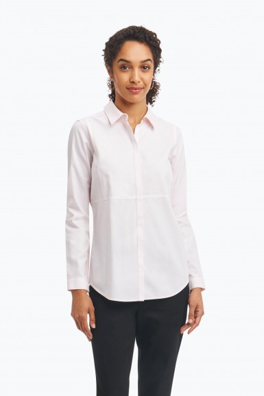 Foxcroft Foxcroft Pinpoint Oxford Shirt