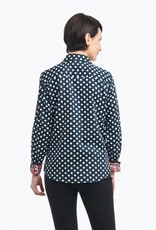 Foxcroft Foxcroft Dots with Paisley Blouse