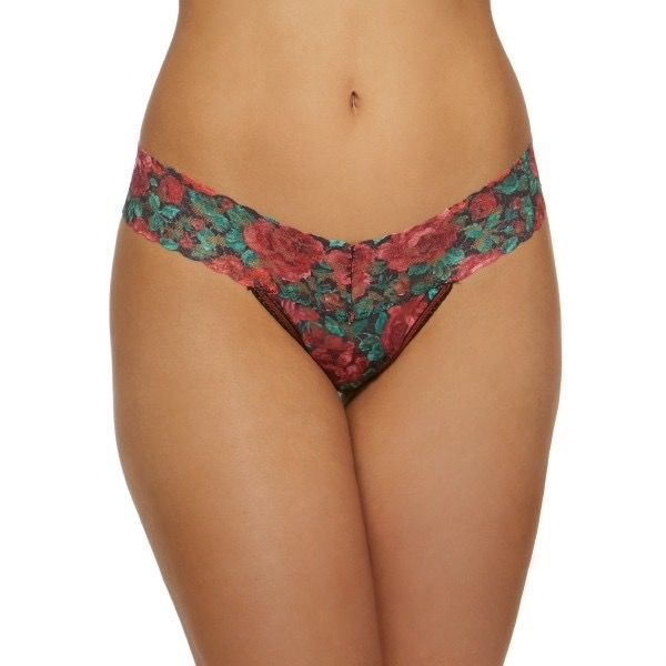 Hanky Panky Hanky Panky Roses are Red Low Rise Thong