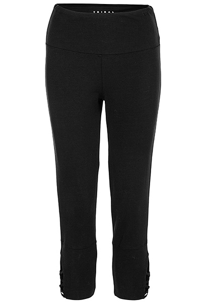 Tribal Tribal Capri Legging with Lace Up