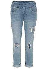 Tribal Tribal Pull On Boyfriend Jean