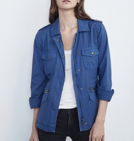 Velvet Velvet Ruby Cotton Twill Jacket
