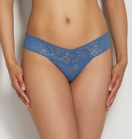Hanky Panky Hanky Panky Low Rise Thong - Storm Cloud Blue