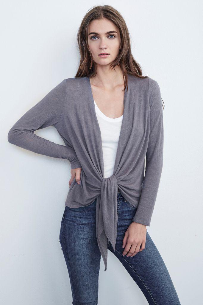 Velvet Velvet Margaret Textured Knit Cardi