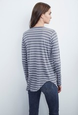 Velvet Velvet Brenny Modal Stripe LS