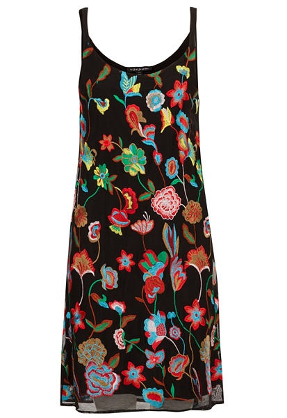 Tribal Tribal Embroidered Dress