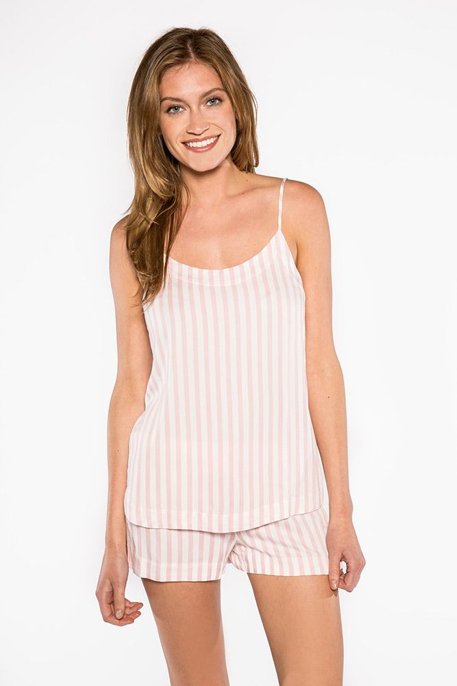 PJ Salvage PJ Salvage Stripe Cami and Short