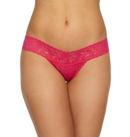 Hanky Panky Hanky Panky Low Rise Thong - Bright Rose