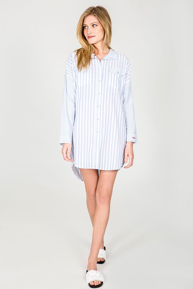 PJ Salvage PJ Salvage Denim Blues Nightshirt