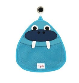 3 Sprouts 3 sprouts bath storage - blue walrus