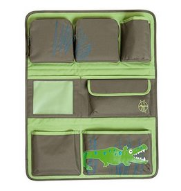 Lassig lassig car wrap-to-go organizer - crocodile