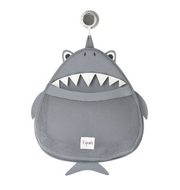 3 Sprouts 3 sprouts bath storage - grey shark