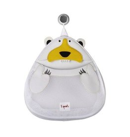 3 Sprouts 3 sprouts bath storage - white polar bear