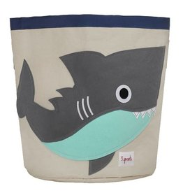 3 Sprouts 3 sprouts storage bin - grey shark