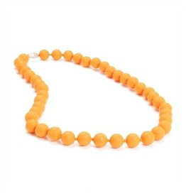 Chewbeads chewbeads jane silicone teething necklace creamsicle
