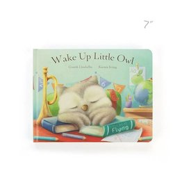 Jellycat jellycat wake up little owl board book