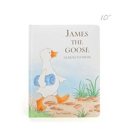 Jellycat jellycat james the goose board book