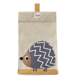 3 Sprouts 3 sprouts diaper stacker - grey hedgehog