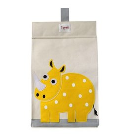 3 Sprouts 3 sprouts diaper stacker - yellow rhino