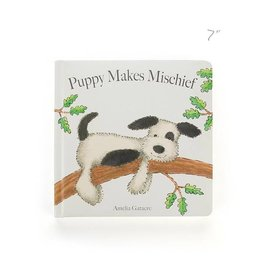 Jellycat jellycat puppy makes michief board book