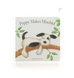 Jellycat jellycat puppy makes michief board book