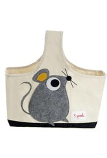 3 Sprouts 3 sprouts caddy - grey mouse