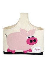 3 Sprouts 3 sprouts caddy - pink pig