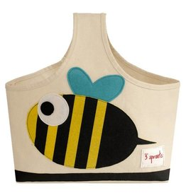 3 Sprouts 3 sprouts caddy - yellow/black bee