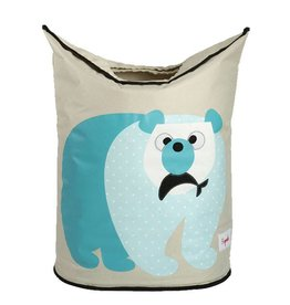3 Sprouts 3 sprouts laundry hamper - polar bear