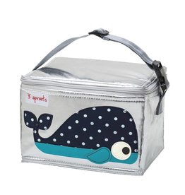3 Sprouts 3 sprouts lunch bag - blue whale