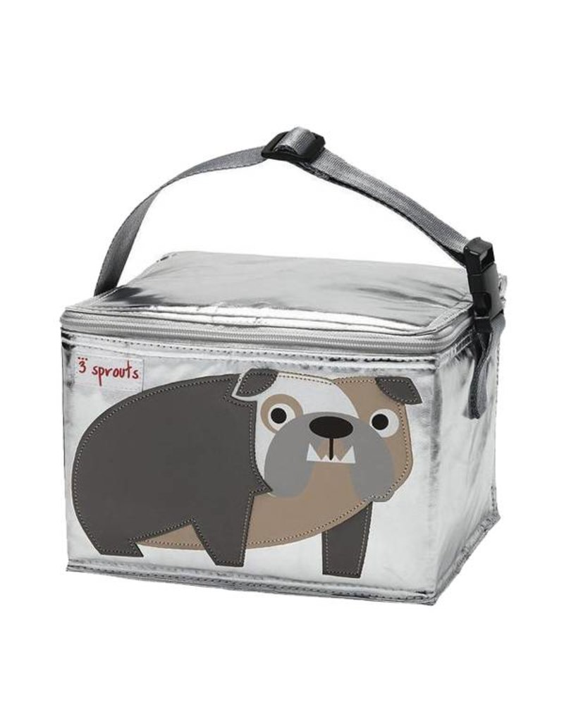 3 Sprouts 3 sprouts lunch bag - bulldog