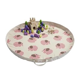 3 Sprouts 3 sprouts play mat bag - elephant