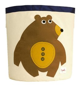 3 Sprouts 3 sprouts storage bin - toffee bear