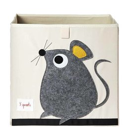 3 Sprouts 3 sprouts storage box - grey mouse