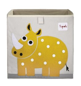 3 Sprouts 3 sprouts storage box - yellow rhino