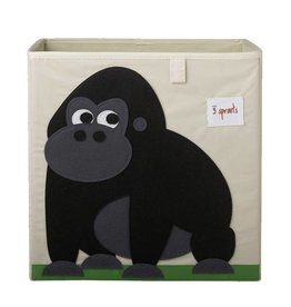 3 Sprouts 3 sprouts storage box - black gorilla