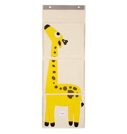 3 Sprouts 3 sprouts wall organizer - yellow giraffe