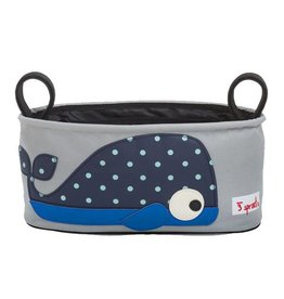 3 Sprouts 3 sprouts stroller organizer - blue whale