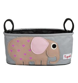 3 Sprouts 3 sprouts stroller organizer - pink elephant