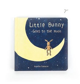 Jellycat jellycat little bunny goes to the moon book