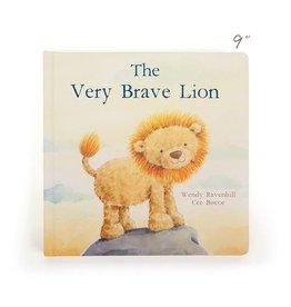 Jellycat jellycat the very brave lion boardbook